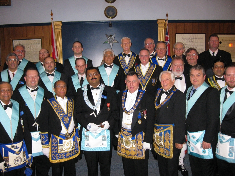 2010 Officers and Installing Board