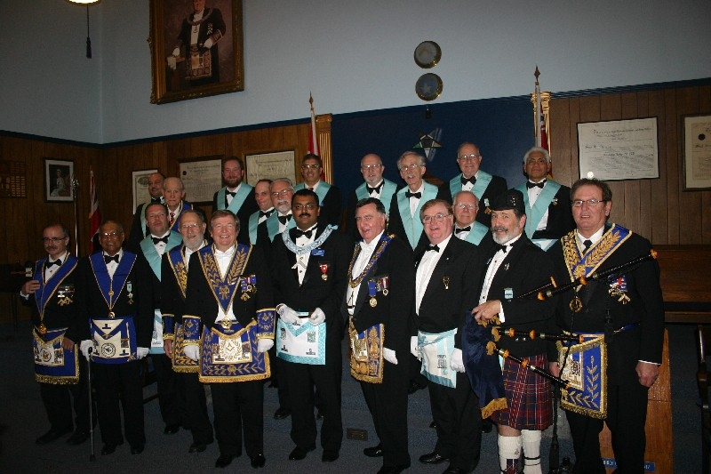 2011 Officers and Installing Board